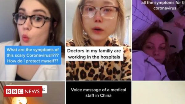 Facebook, Tiktok, Twitter tackle coronavirus fake news – BBC News